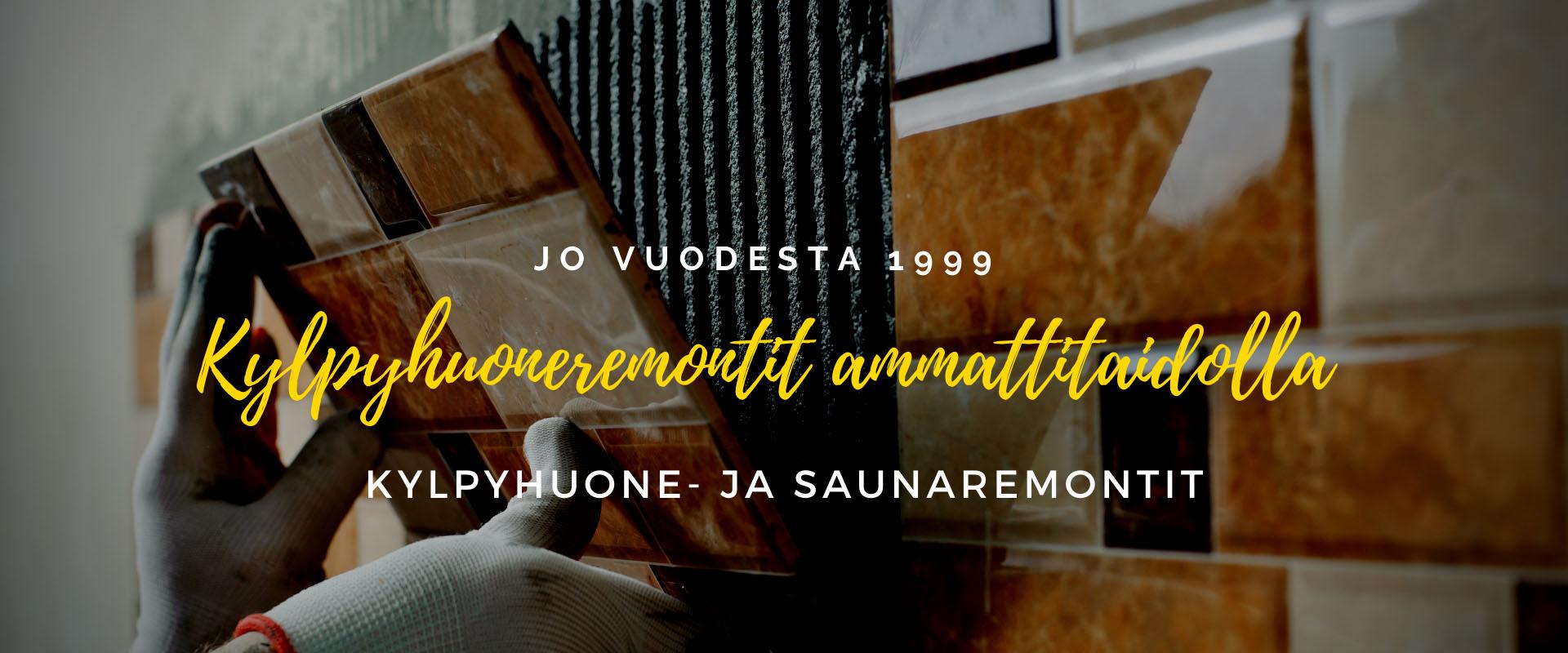 Kylpyhuone- ja saunaremontit Tampereella • TelaKalle Oy